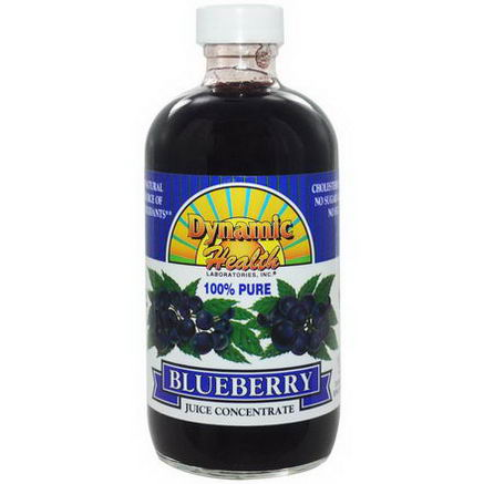 Dynamic Health Laboratories, 100% Pure Blueberry Juice Concentrate, 8 fl oz (237 ml)
