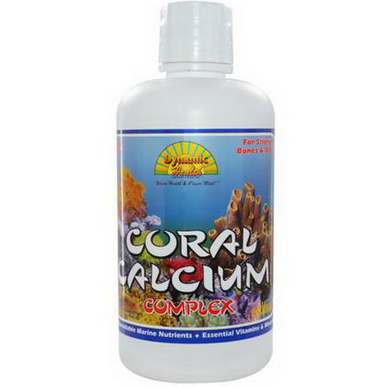 Dynamic Health Laboratories, Coral Calcium Complex, 32 fl oz (946 ml)