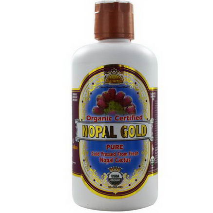 Dynamic Health Laboratories, Organic Certified Nopal Gold, 32 fl oz (946 ml)