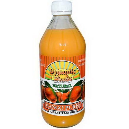 Dynamic Health Laboratories, Mango Puree, 16 fl oz (473 ml)