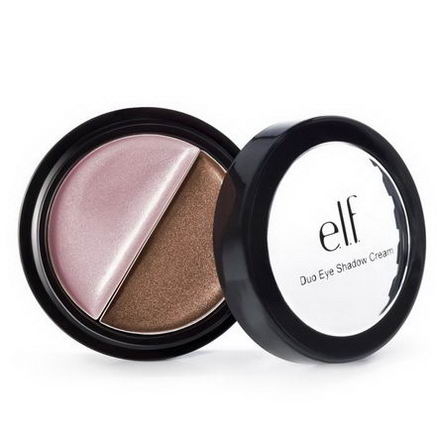 E.L.F. Cosmetics, Duo Eyeshadow Cream, Mocha Swirl, 0.10oz (3g)
