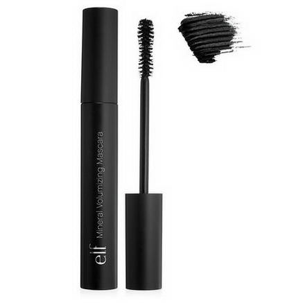 E.L.F. Cosmetics, Mineral Volumizing Mascara, Jet Black, 0.23oz (6.5g)