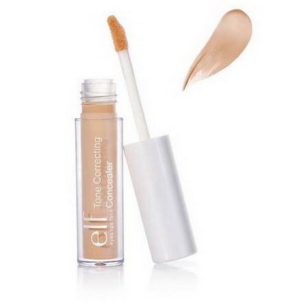 E.L.F. Cosmetics, Tone Correcting Concealer, Light Beige, 0.08oz (2.3g)