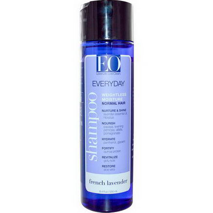 EO Products, Everyday Shampoo, French Lavender, 8.4 fl oz (250 ml)