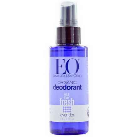 EO Products, Organic Deodorant, Lavender, 4 fl oz (120 ml)
