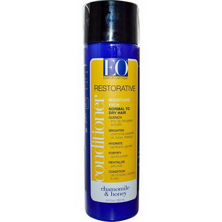 EO Products, Restorative Conditioner, Moisture Rich, Chamomile & Honey, 8.4 fl oz (250 ml)