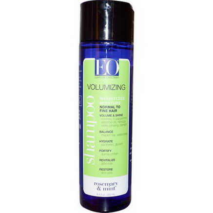 EO Products, Volumizing Shampoo, Rosemary & Mint, 8.4 fl oz (250 ml)