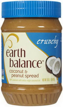 Earth Balance, Coconut & Peanut Spread, Crunchy, 16oz (453g)