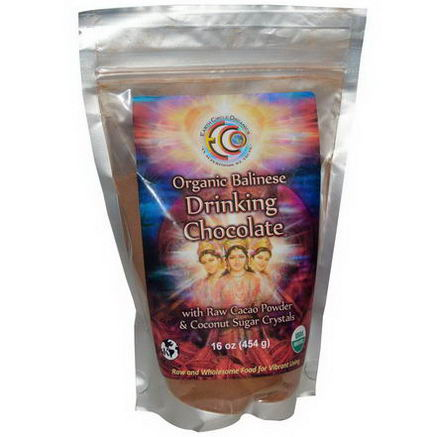 Earth Circle Organics, Organic Balinese Drinking Chocolate, 16oz (454g)