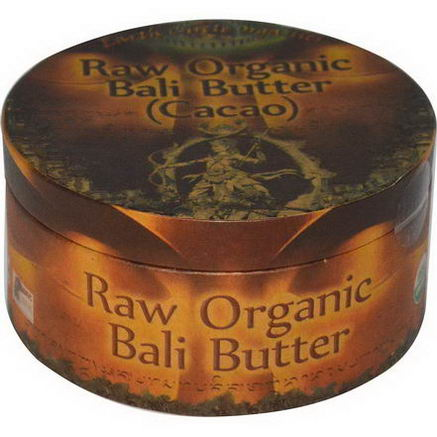 Earth Circle Organics, Raw Organic Bali Butter (Cacao), 250g