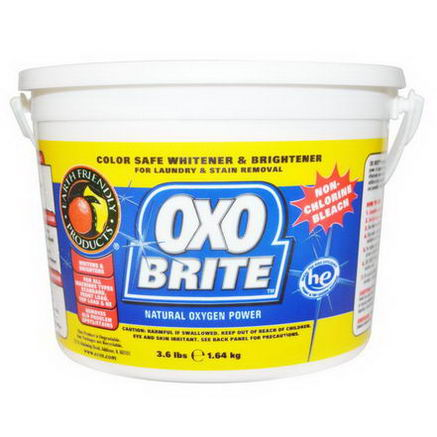 Earth Friendly Products, Oxo Brite, Natural Oxygen Power, 3.6 lbs (1.64 kg)