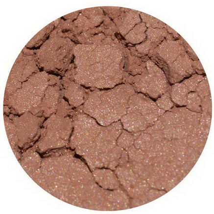 Earth Lab Cosmetics, Loose Mineral Blush Shimmer, Apricot, 2g