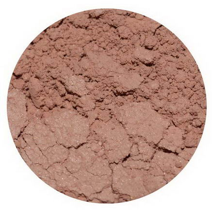 Earth Lab Cosmetics, Loose Mineral Blush Shimmer, Peach, 2g