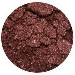 Earth Lab Cosmetics, Loose Mineral Blush Shimmer, Sultry Brown, 2g