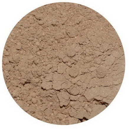 Earth Lab Cosmetics, Loose Mineral Foundations, Dark D1, 3g