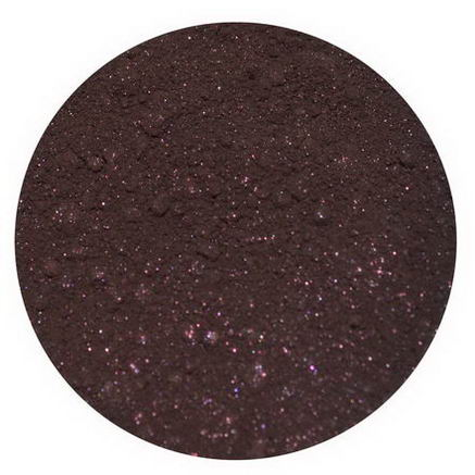 Earth Lab Cosmetics, Matte Eye Shadow, Deep Plum, 2g