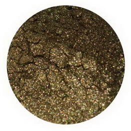 Earth Lab Cosmetics, Mineral Powder, Olive Shimmer, 1g