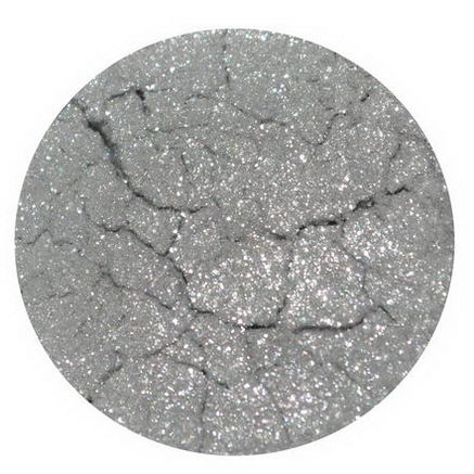 Earth Lab Cosmetics, Multi Purpose Mineral Powder/Eye Shadow, Silver, 1g