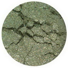 Earth Lab Cosmetics, Multi Purpose Mineral Powder/Eye Shadow, Soft Green, 1g