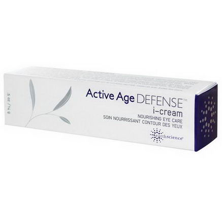 Earth Science, Active Age Defense, i-Cream, Nourishing Eye Care, 5oz (14g)