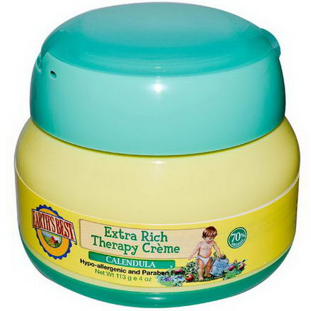 Earth's Best, Extra Rich Therapy Creme, Calendula, 4oz (113g)