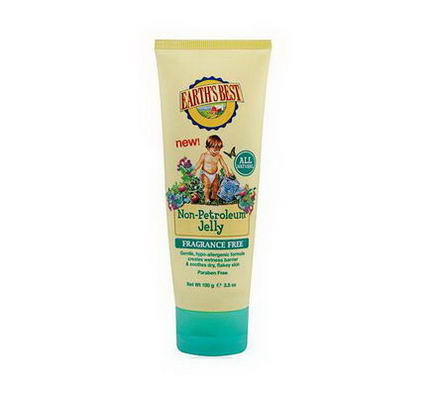 Earth's Best, Non-Petroleum Jelly, Fragrance Free, 3.5oz (100g)