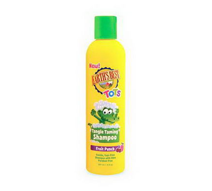 Earth's Best, Tots, Tangle Taming Shampoo, Fruit Punch, 8 fl oz (237 ml)