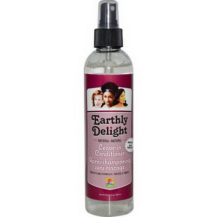 Earthly Delight Hair Care, Leave-In Conditioner, 8oz (236 ml)