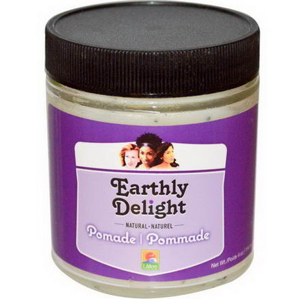 Earthly Delight Hair Care, Pomade, 4oz (114 ml)