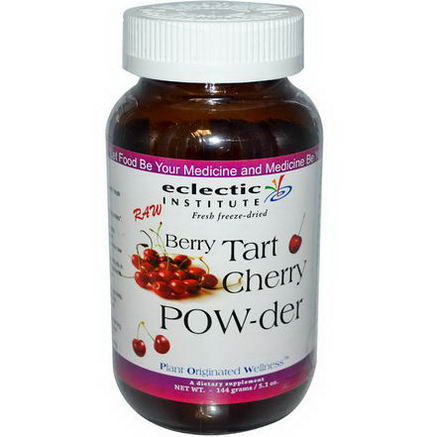 Eclectic Institute, Berry Tart Cherry Pow-der, 5.1oz (144g)