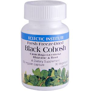 Eclectic Institute, Black Cohosh (Fresh Freeze Dried), 550mg, 90 Veggie Caps