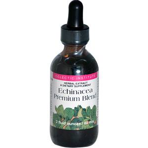 Eclectic Institute, Echinacea Premium Blend, 2 fl oz (60 ml)