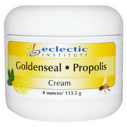Eclectic Institute, Goldenseal-Propolis Cream, 4oz (113.5g)