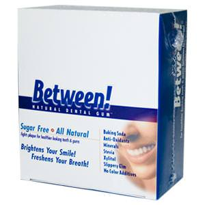 Eco-Dent, Between! Dental Gum, Sugar Free, Wintergreen, 12 Sleeves, 12 Pieces Per Sleeve