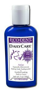 Eco-Dent, Daily Care, Baking Soda Toothpowder, Anise, 2oz (56g)