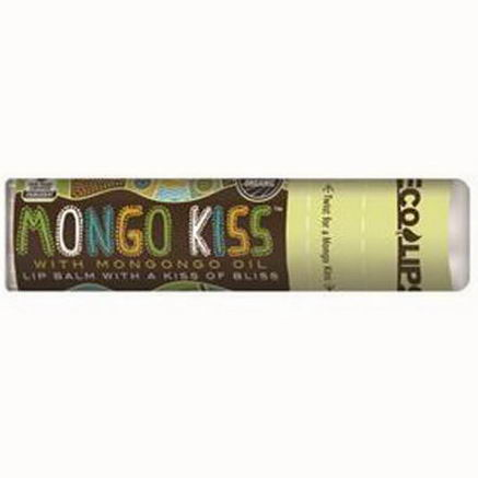 Eco Lips Inc, Mongo Kiss, Lip Balm, Unflavored, 25oz (7g)