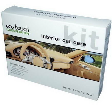 Eco Touch, Inc. Interior Car Care Kit, Mini Trial Pack, 5 Piece Kit