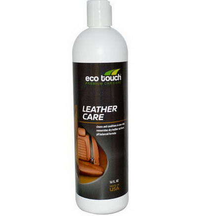Eco Touch, Inc. Leather Care, 16 fl oz