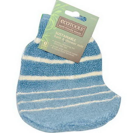 EcoTools, Sustainable Bath & Shower Mitt, 1 Mitt