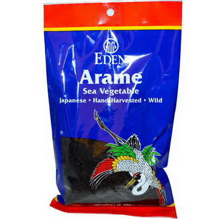 Eden Foods, Arame Sea Vegetable, 2.1oz (60g)