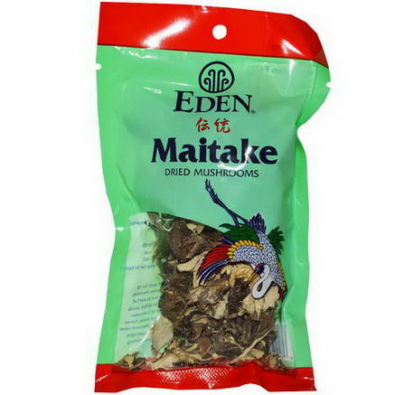 Eden Foods, Maitake Dried Mushrooms, 0.88oz (25g)