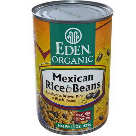 Eden Foods, Organic, Mexican Rice & Beans, 15oz (425g)