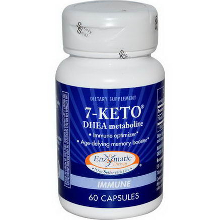 Enzymatic Therapy, 7-KETO, DHEA Metabolite, 60 Capsules