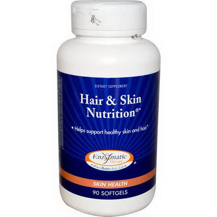 Enzymatic Therapy, Hair & Skin Nutrition, 90 Softgels