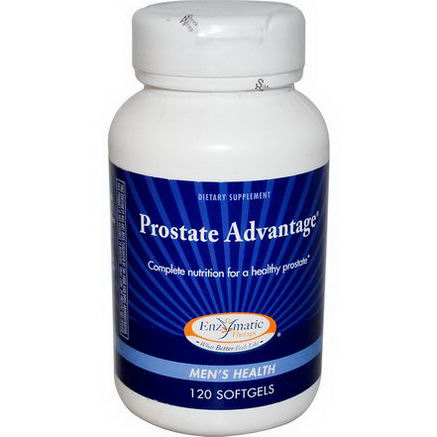 Enzymatic Therapy, Prostate Advantage, Men's Health, 120 Softgels