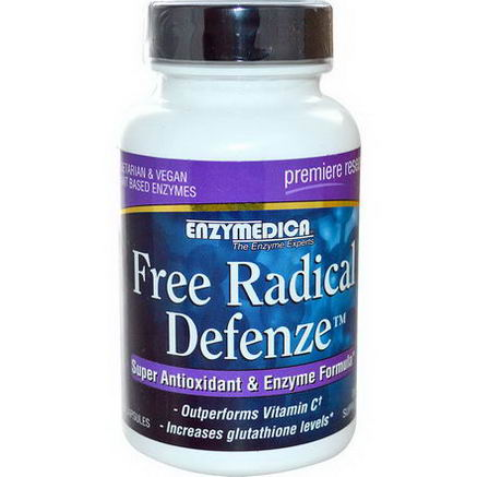 Enzymedica, Free Radical Defenze, 60 Capsules