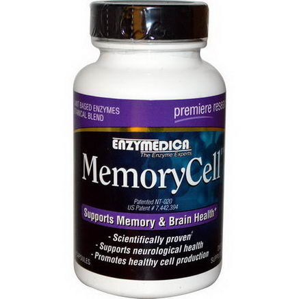 Enzymedica, MemoryCell, 60 Capsules