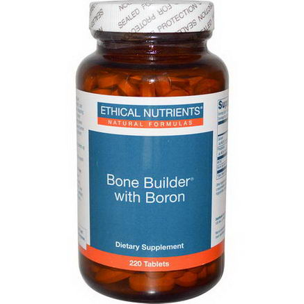 Ethical Nutrients, Bone Builder with Boron, 220 Tablets