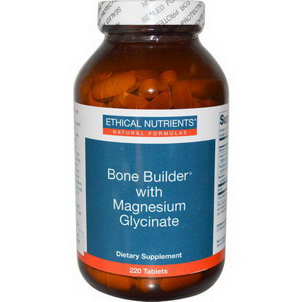 Ethical Nutrients, Bone Builder with Magnesium Glycinate, 220 Tablets