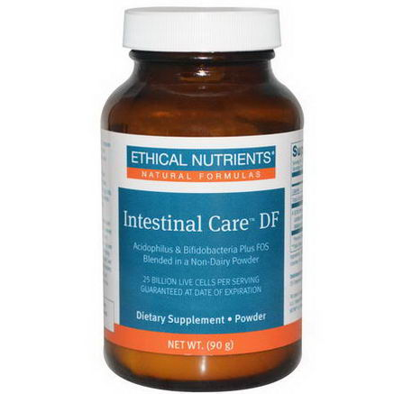 Ethical Nutrients, Intestinal Care DF, Non-Dairy Powder, 90g